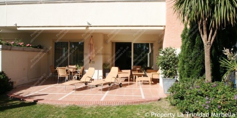 La Trinidad Marbella Garden Apartment For Sale 6