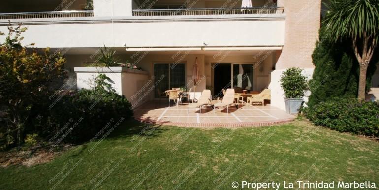 La Trinidad Marbella Garden Apartment For Sale 8