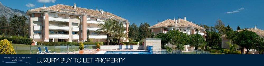 Luxury Buy to Let Property. La Trinidad, Marbella, Spain
