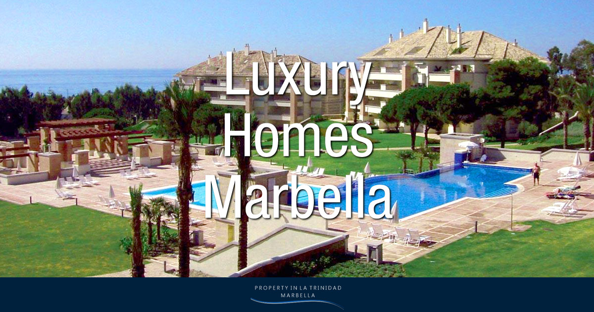 Luxury homes for sale family apartments penthouses la - Luxury homes marbella ...