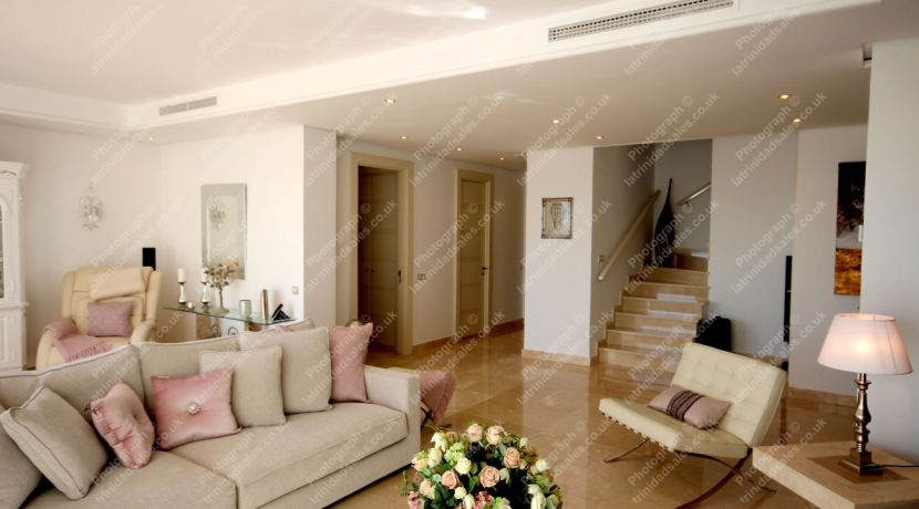 Large Open Living Area, Luxury Penthouse Apartment for Sale, La Trinidad, Marbella