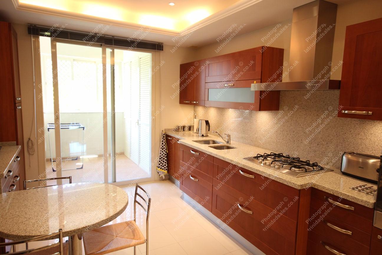 Kitchen Luxury Apartment For Sale La Trinidad Marbella