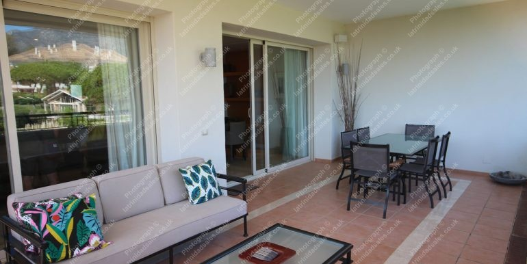 Large Balcony - Luxury Apartment for Sale, La Trinidad Marbella - South-East Facing, 3 Bed, 3 Bath, First Floor - 17