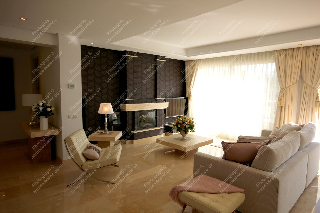 Spacious living area luxury penthouse apartment for sale for Penthouse apartment for sale