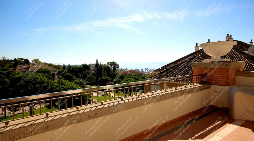 Stunning Mediterranean Views, Luxury Penthouse Apartment for Sale, La Trinidad, Marbella
